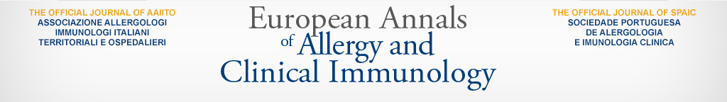 European Annals of Allergy and Clinical Immunology